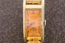 VINTAGE MENS BULOVA WRISTWATCH CALIBER 7AP KEEPING TIME