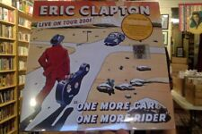 Eric Clapton One More Car One More Rider Live on Tour 3xLP clear vinyl RSD 2019
