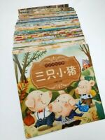 New 100PC Fairy Tale Children Literature Bedtime Story Book in Chinese Language