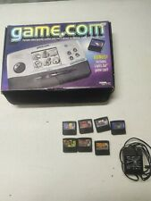 Tiger Game.com portable console box working charger Duke nukem Jurassic internet