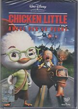 CHICKEN LITTLE AMICI PER LE PENNE DVD DISNEY  SIGILLATO!!!