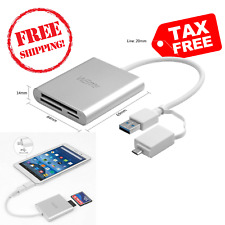 CF Card Reader USB 3.0 Compact Flash High Speed Converter Adapter Mac Mini iPad