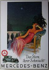 Mercedes Benz 1929 Laminated Art Atelier Hans Neuman
