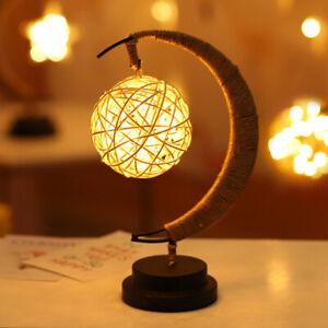 The Enchanted Lunar Lamp LED Moon Light Wishing Birthday