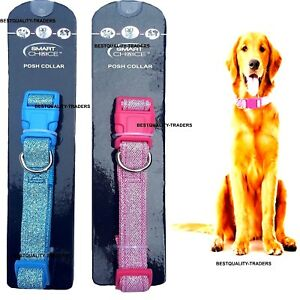 Small Posh Sparkly Puppy  Small Dog Collar Fully Adjustable