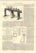 1896 Three Wire Cutting Straightening Machine Taylor Hattersley Brighouse