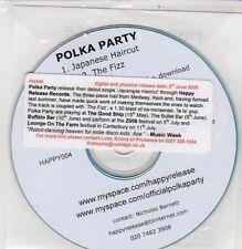 (DC169) Polka Party, Japanese Haircut - 2008 DJ CD