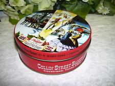 VICTORIAN TIN BOX COLLIN STREET BAKERY 100TH YEAR 1896 - 1996