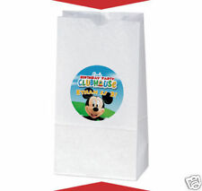 12 Mickey Mouse Clubhouse Birthday Party Favors Personalized Treat Bag Stickers