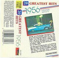 1956. 20 Greatest Hits - Original Artists (Cassette 1987 Deluxe) Twin Pak