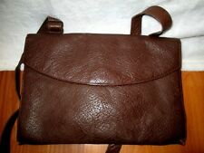 Very Rare Brown Leather Army Issued Purse Handbag Late 40's Early 50's