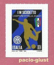 ITALIA 2021 INTER Campione d'Italia 2020/21   Francobollo singolo