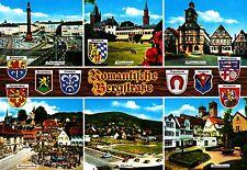 Romantische Bergstraße , Darmstadt , Bensheim , Alsbach  , Ansichtskarte