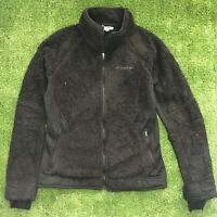 Women's, Black, Columbia , Fleece Jacket Coat, M Medium, Outerwear, Ladies