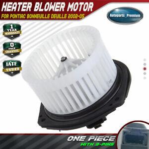 For 2002-2005 Buick LeSabre Blower Motor 41378VZ 2004 2003 3.8L V6