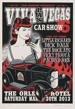 Little Richard POSTER Viva Las Vegas Car Show #16 Dick Dale The Rockats Kruse