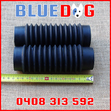 Fork Gaiters Small Black 170mm Long 42mm Top 45mm At Bottom 263501 Yamaha  FS1E