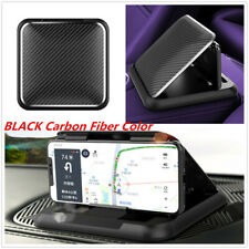 1x Black Silicone Car Cell Phone Holder Stand Non-slip Cradle For iPhone Samsung