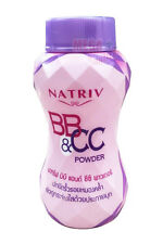NATRIV BB and CC Face Powder Look Radiant With Pearls Protect Tots Float Streak