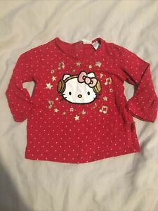 Girls 4-6 Months Hello Kitty Long Sleeve Top - H&M