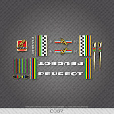 0367 Peugeot Bicycle Frame Stickers - Decals - Transfers