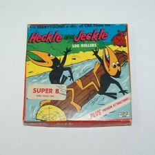 Terry Toons Super8  Cartoons  Heckle and Jeckle Log Rollers 509 home movie