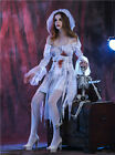 Ghost Bride Zombie Corpse Sexy Womens Halloween Costume Vampire Fancy Dress
