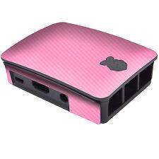 Etiqueta engomada de la piel con textura para oficial Raspberry Pi B +/2/3 caso Wrap Calcomanía