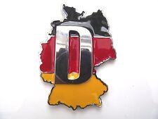 Enamel badge German country Flag die cast alloy Volkswagon BMW self adhesive