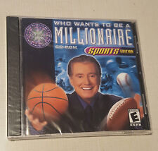 Who Wants to Be a Millionaire CD-ROM: Sports Edition (Win/Mac, 2000) - New