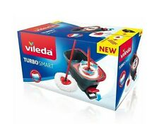 Vileda Turbo Smart Nettoyant de Sol Seau Lave-Vitre À Pédale Avec Mocho Neuf