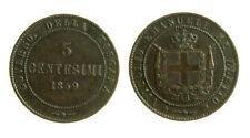 pcc2124_64) Savoia - Vittorio Emanuele II re Eletto (1859-1861) 5 Centesimi 1859