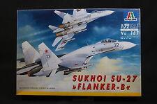 XX083 ITALERI 1/72 maquette avion 187 Flanker B Sukhoi SU-27 SU27 Ptitoys