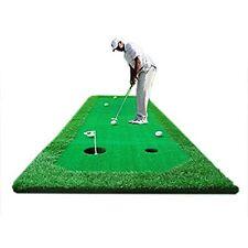 2.5'X10' Golf Putting Green Indoor/outdoor Portable Practice Training Mat Aids