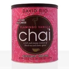 David Rio Flamingo Vanilla Decaf Sugar Free Chai Tea 1520g, große Dose