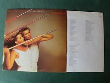 ROXY MUSIC : Flesh + Blood - LP + INNERSLEEVE 1980 French E.G. POLYDOR 2302 099