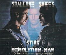 STING Demolition Man CD Single A&M 580 451-2 1993