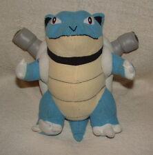 "Plush 10"" Blastoise Pokemon 1999 Play By Play Nintendo Game Freak Nice"