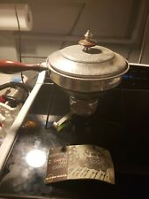 Globe Ware Vintage Chafing Dish And Booklet