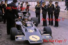 RONNIE PETERSON LOTUS JPS 72E di British Grand Prix 1974 fotografia 7