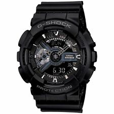 NEW Casio G-Shock GA110-1B Black and Silver Wristwatch