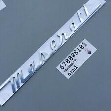 Car Auto Rear Emblem Sticker Decal Badge Accessories Logo For Maserati Ghibli