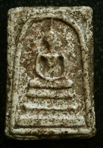 Phra somdej wat rakang LP TOH antique Thai magic amulet buddha lucky pendant