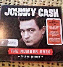 JOHNNY CASH  THE GREATEST THE NUMBER ONES DELUXE EDITION CD AND DVD SET 2 DISCS