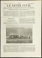 1892 - Drag Piocheuse De Huesuda Y Daste Al Grande Canal Del Parque Versailles