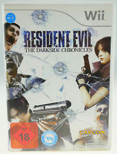 Residente Evil the Darkside Chronicles completamente en OVP-Nintendo Wii