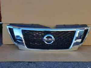 2017 2018 Nissan Armada Front Bumper Grille Grill w/ Camera OEM 62310-5ZW0A
