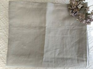 New IKEA Curtain 1 Panel Solid Gray Linen Rod Pocket or Tabs
