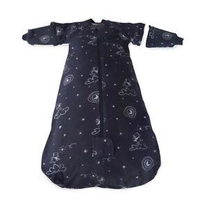 Bubba Blue 2.5 TOG Convertible Baby/Toddler Sleeping Bag Navy Wish Upon A Star