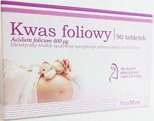 Kwas Foliowy 0,4 tabl90